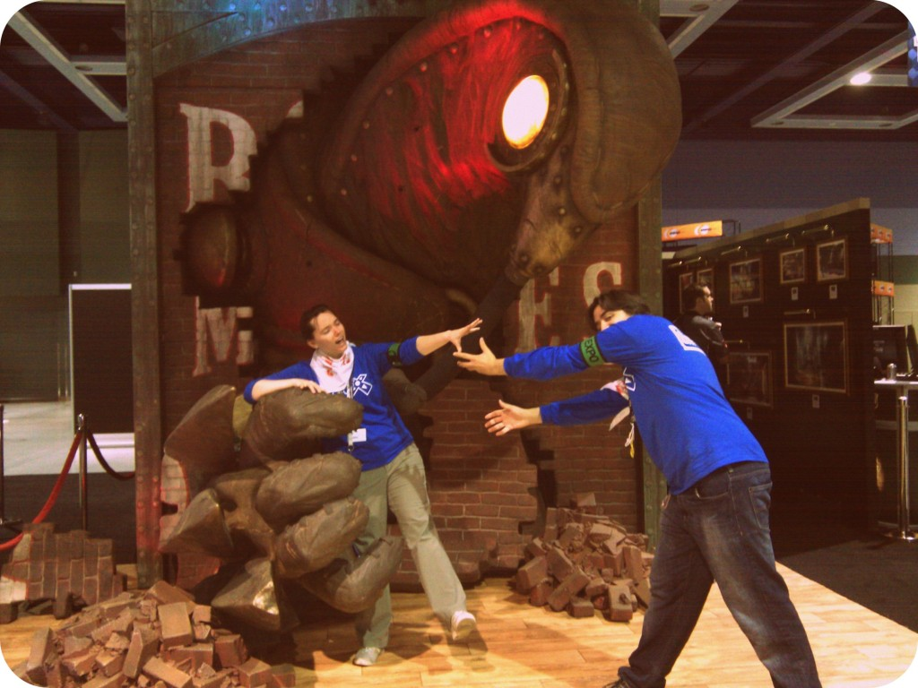 Me and Chris at PAX 2011. We've worked the Expo Hall the last two years, but this time we'll be in Tabletop.